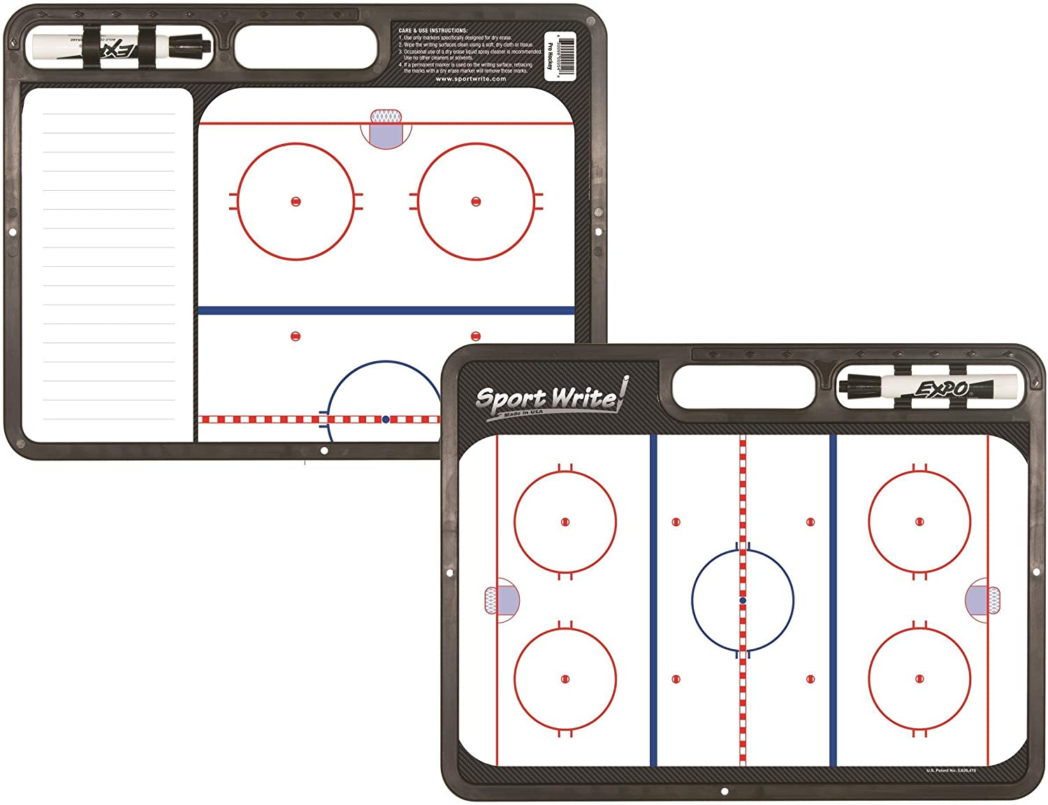 B003KJA9I6 Sport Write Pro Ice Hockey Coaches Board 81q4gob5erL