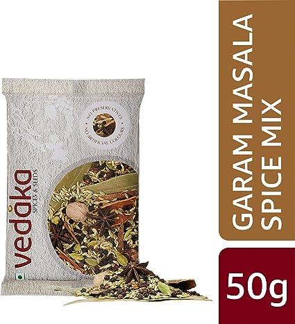 Amazon Brand - Vedaka Garam Masala Spice Mix, 50g