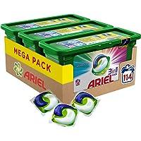 Ariel 3en1 PODS Color Detergente En Cápsulas - Paquete de 3 x 38 - Total: 114Lavados