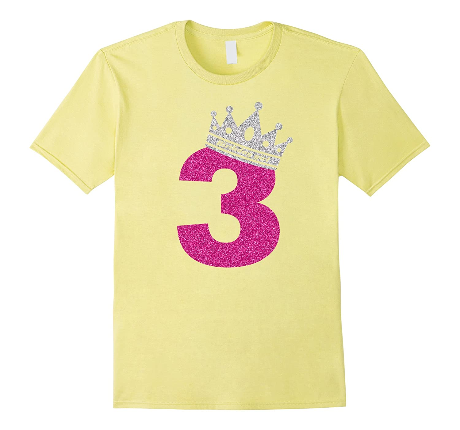 3rd Birthday Shirt Girl Princess