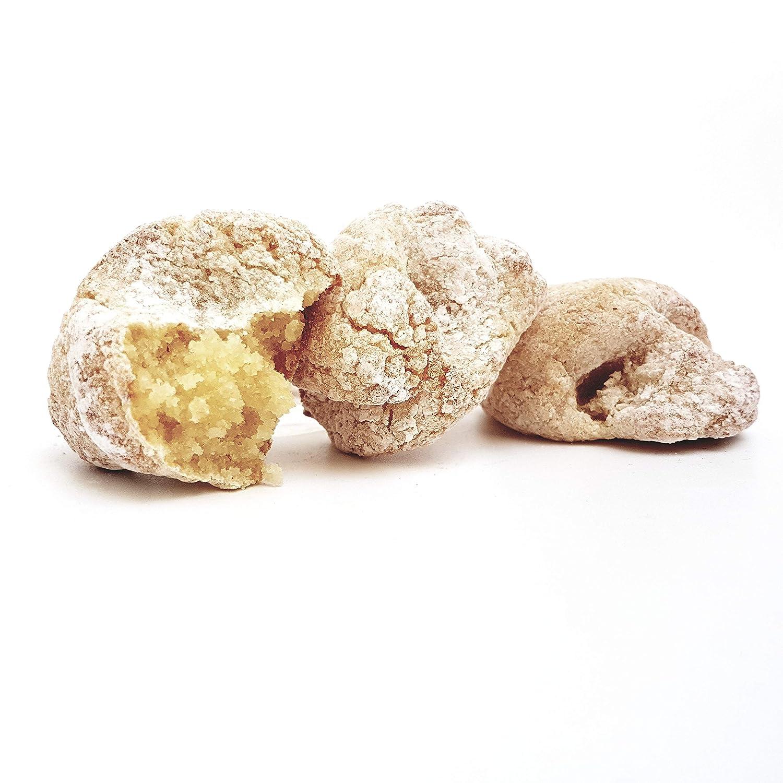 Rarezze: dulce de almendra, dulcesito, biscocho, dulceria antigua, receta tradicional, laboratorio dulcero Siciliano.: Amazon.es: Alimentación y bebidas