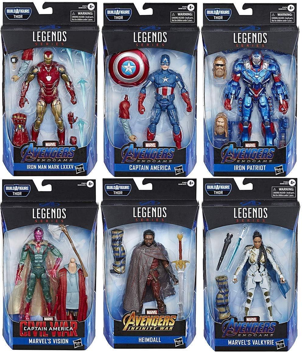 """THOR BAF Marvel Legends 2019 6/"""" ENDGAME ACTION FIGURE CAPTAIN AMERICA"""