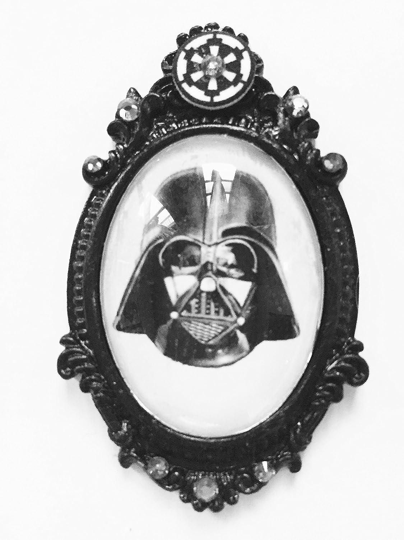 Star Wars Darth Vader 30x40mm cameo brooch