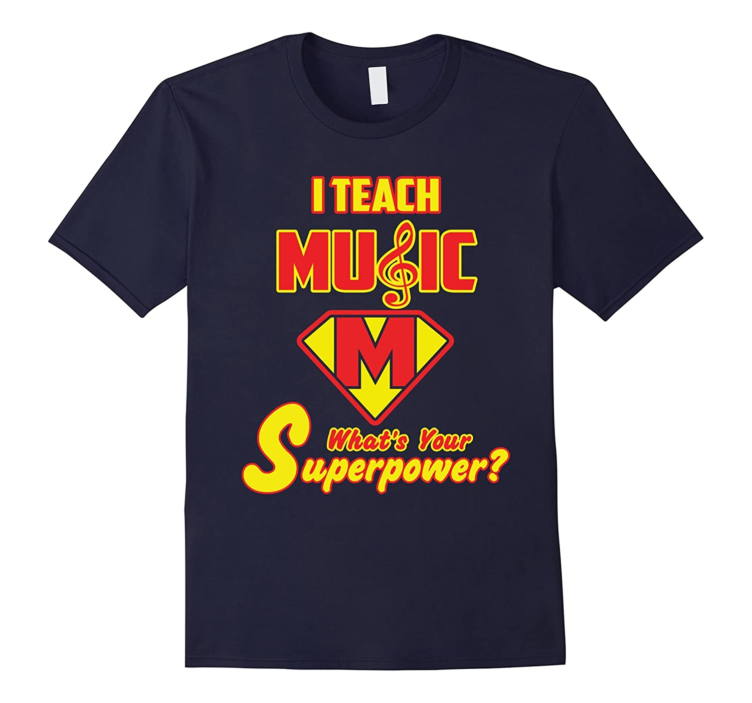 2 Sided Superhero I Teach Music Whats Your Superpower?-CD