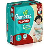 Pampers Large Size Diaper Pants (20 Count)