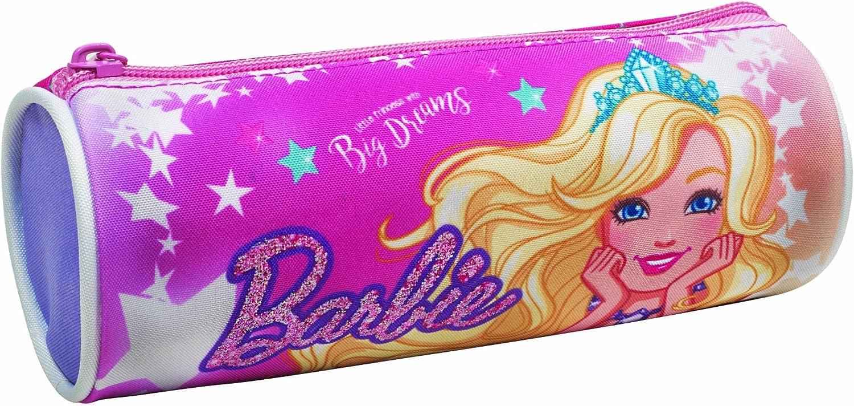 Giovas Giovas_349-61140 Barbie - Estuche redondo: Amazon.es: Oficina y papelería