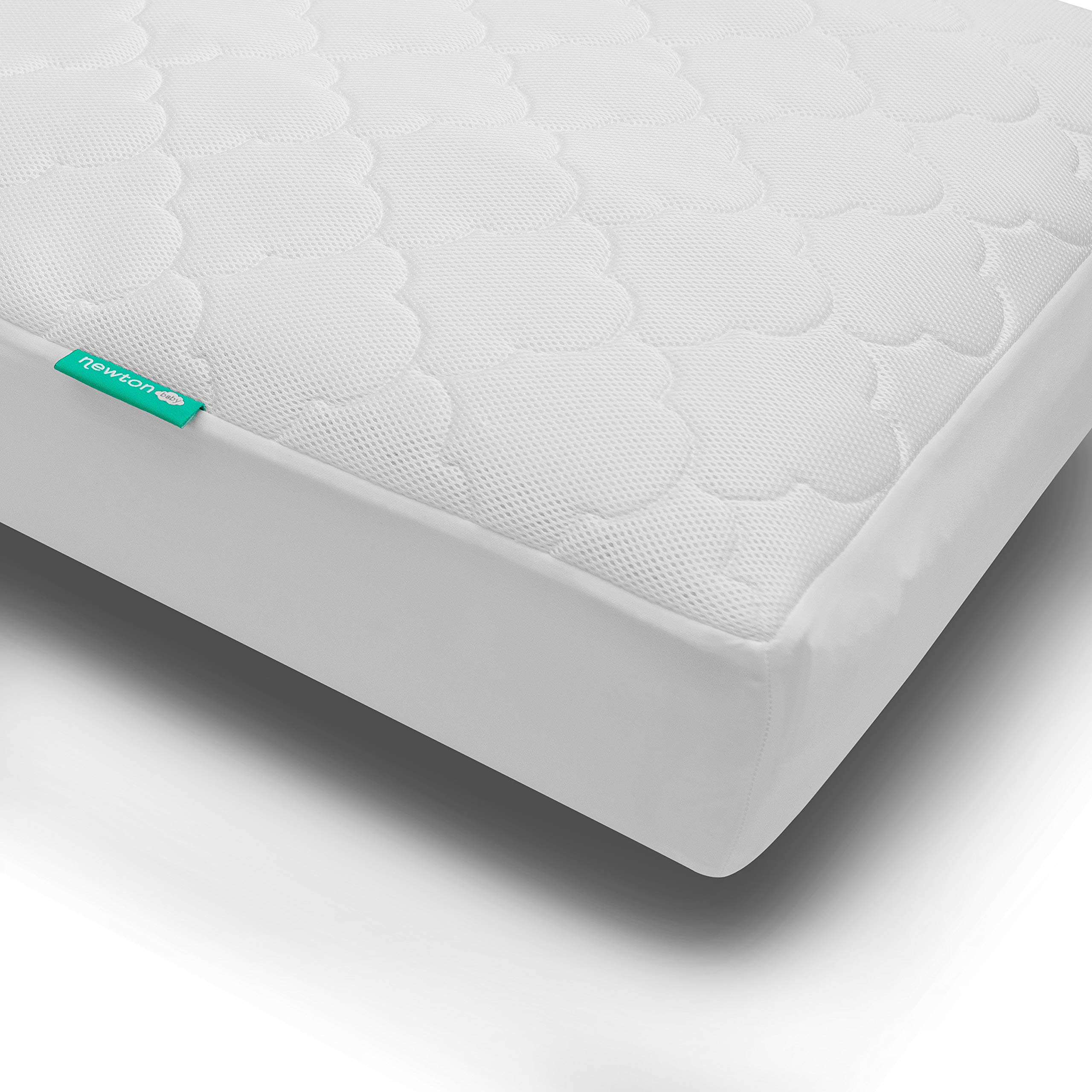 Newton Baby Waterproof Crib Mattress Pad   100% Breathable Proven to Reduce Suffocation Risk, Universal Fit, 100% Washable, Hypoallergenic, Non-Toxic by Newton