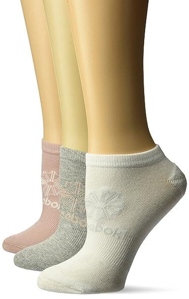 98bda73830 Reebok Classic Women's Foundation No Show Socks (pack Of 3)