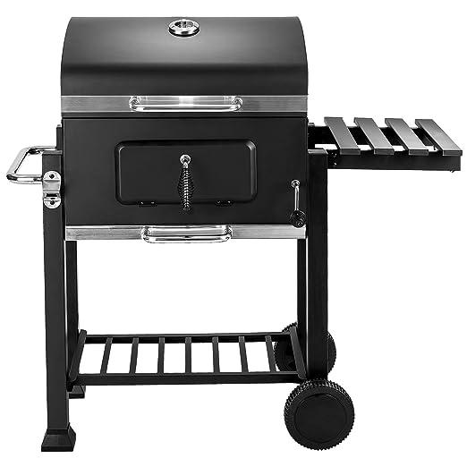 TecTake Barbacoa Barbecue Grill con Carbón Vegetal Parrilla Fumador - Varios Modelos - (Grill con carbón Vegetal 402174)
