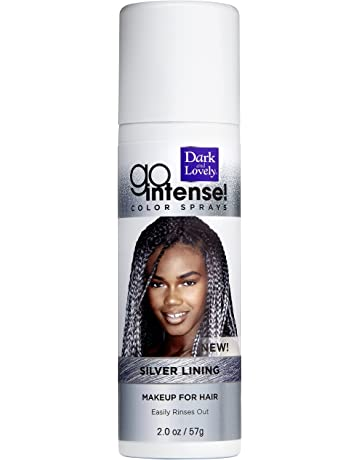 dbce8609c7d Temporary Hair Color by SoftSheen-Carson Dark and Lovely, Go Intense Color  Sprays,