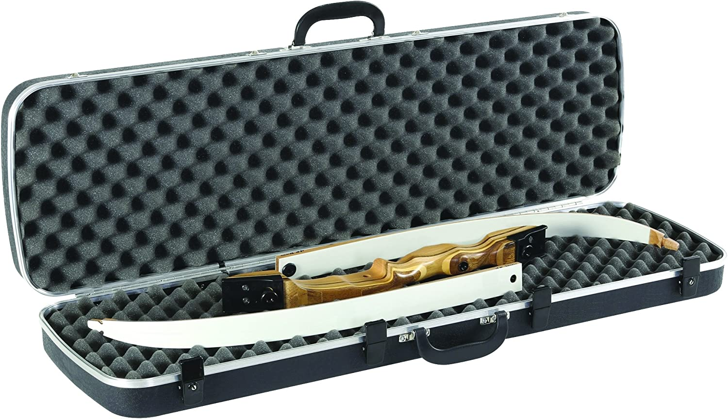 Plano Molding Plano Deluxe Bow Guard Recurve/Take Down Bow Case, Black by