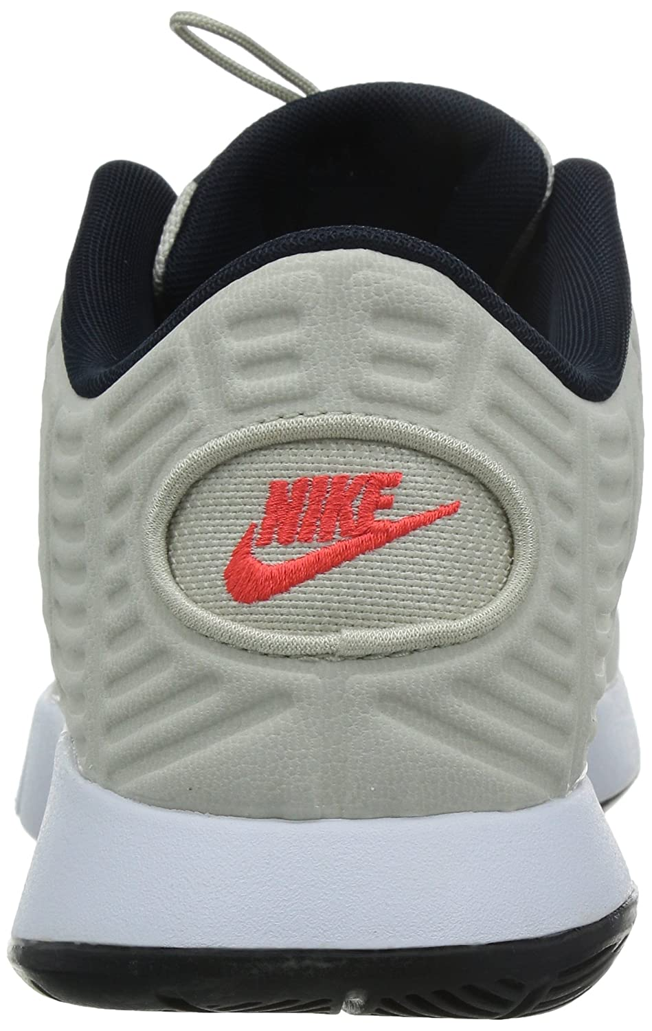 Nike Lunar Hyperrev Low Ext Mens Basketball Shoes LGHT BN/BRGHT Grey Tan/White