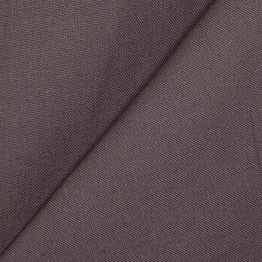 Tela Lienzo algodón Natté Panama 280 cm – gris – a la copa X 50 cm: Amazon.es: Hogar
