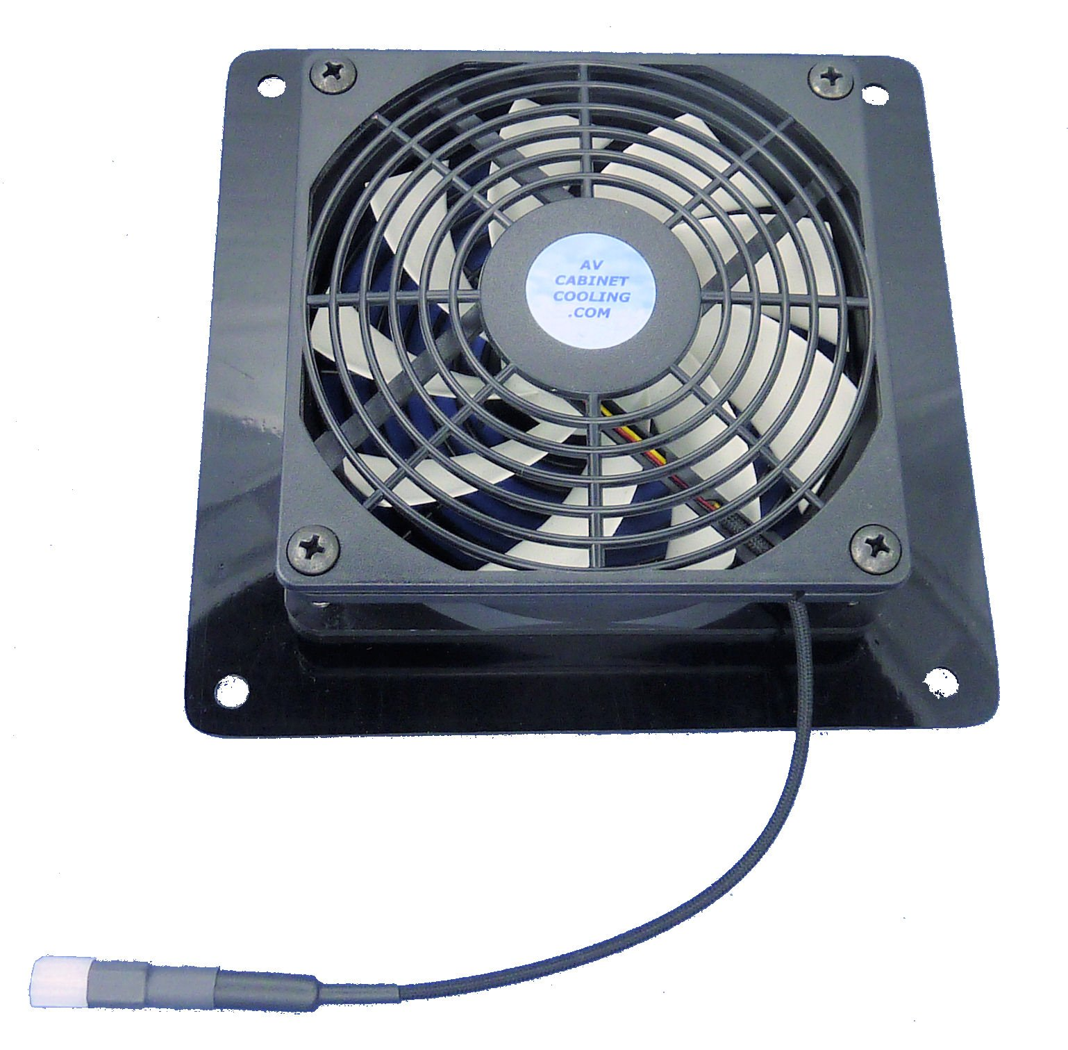AV/Computer Cabinet Mega-fan Exhaust fan with thermostat & multi-speed control