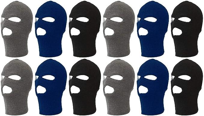 Winter Knit Ski Mask 3-Hole e918750204