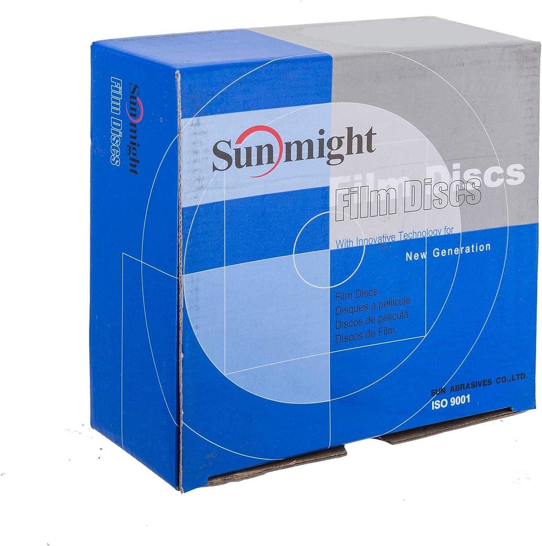 6 No Hole PSA Disc Grit 40 Sunmight Film