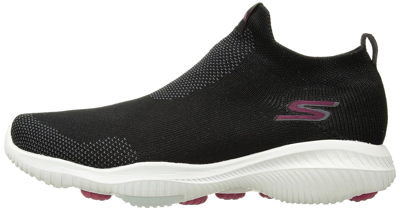 Skechers Women's Go Walk Revolution Ultra-Jolt Sneaker B078GMWCTK 7 B(M) US|Black/Hot Pink
