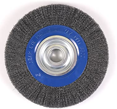 Mercer Industries 183040b Crimped Wire Wheel 10 X 1 X 2 1 2 5 8 For Bench Pedestal Grinders Amazon Com