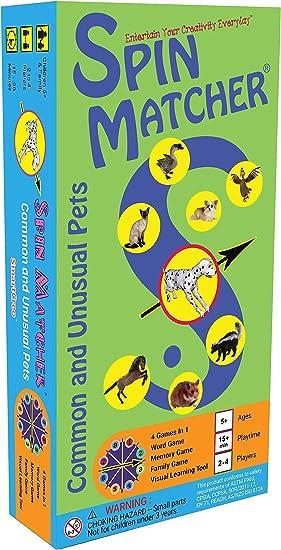 Juego de Mesa Educativo para la Familia de Palabras y Memoria 4 en 1 de SmartCreo: Amazon.es: Juguetes y juegos
