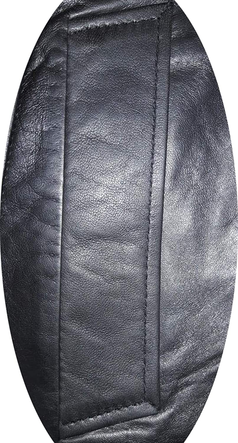 Jacket Collection Original Lambskin Leather Mens Long Coat Glossy Black Sheepskin for Sale on