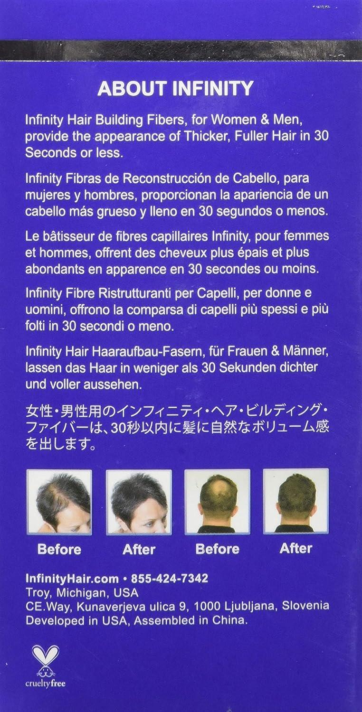 Infinity Hair Fibers, Black, 15g