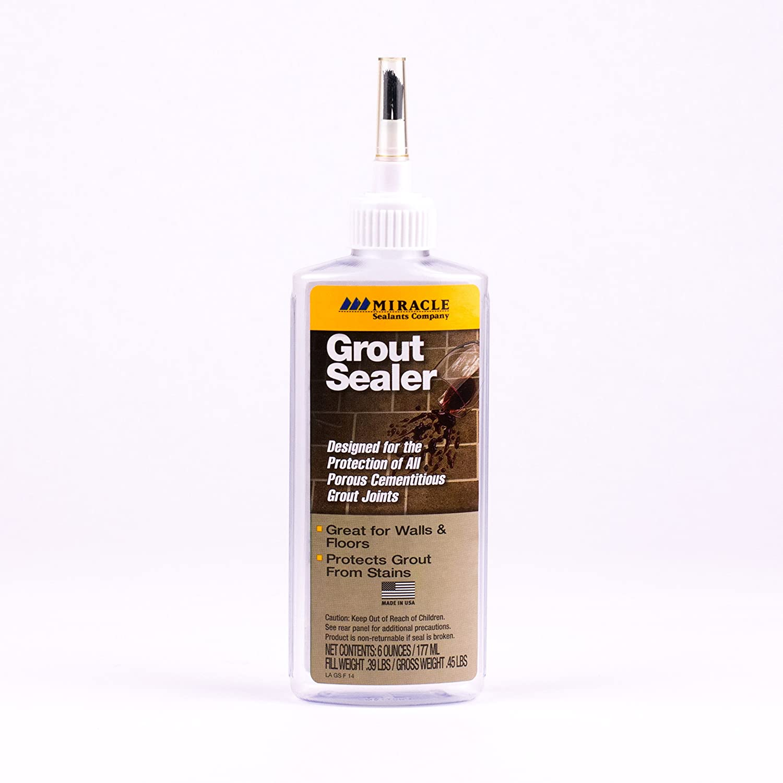 Miracle Sealants GRT SLR 6-Ounce Grout Sealer, 6-Ounce - Household ...
