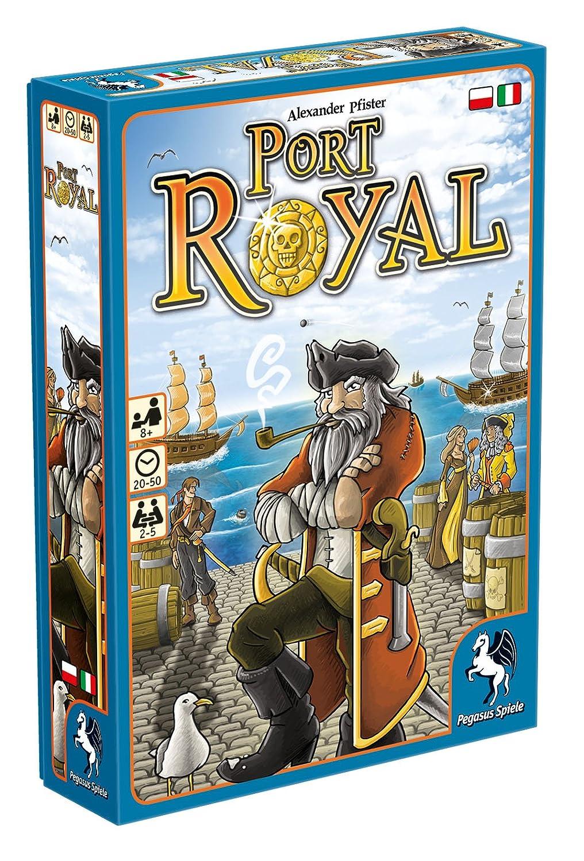 Amazon.com: Pegasus Spiele 18114PLIT – Card Game Port Royal ...