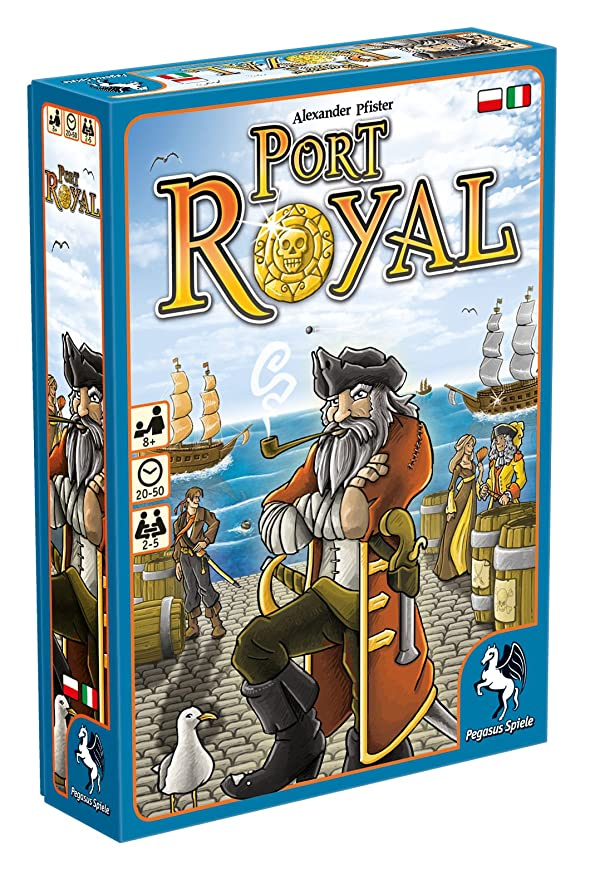 Pegasus Juegos 18114plit – Juego de Cartas Port Royal: Amazon.es ...