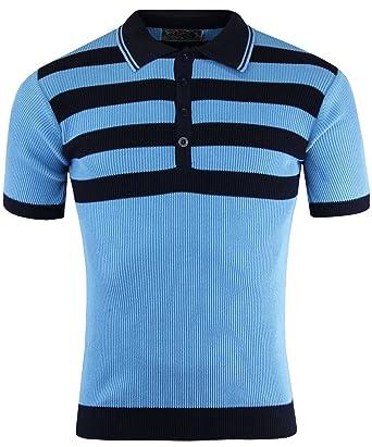 Madcap England - Polo - Rayas - Clásico - para hombre azul azul ...