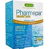 Pharmepa MAINTAIN Omega-3 EPA & DHA Wild Fish Oil with GLA & Vitamin D3,  750 mg EPA & 250 mg DHA per serving, fast-acting rTG omega-3, 60 capsules