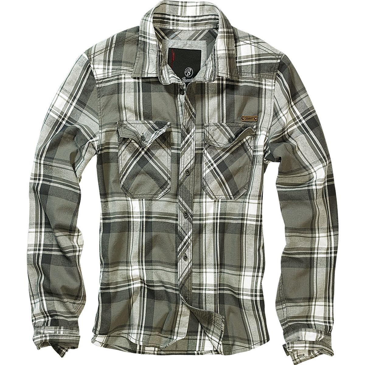 Brandit Checkshirt Shirt blue-red-white 4002
