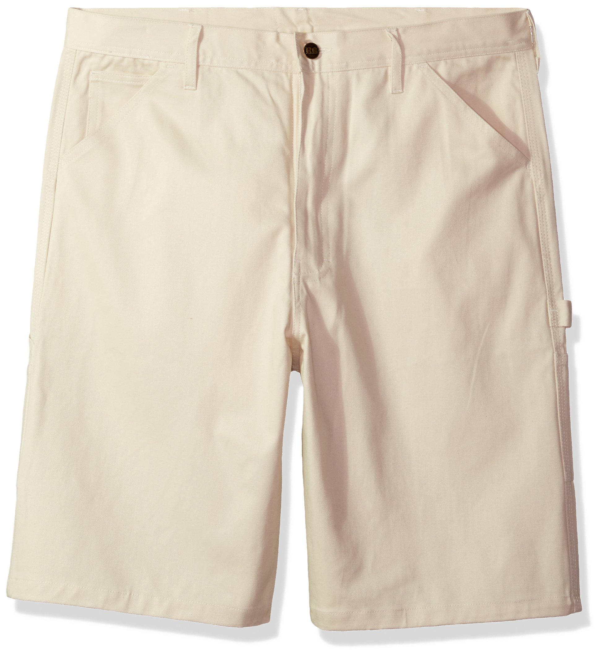 Rugged Blue RBNS34 Painters Shorts, 34'', Natural