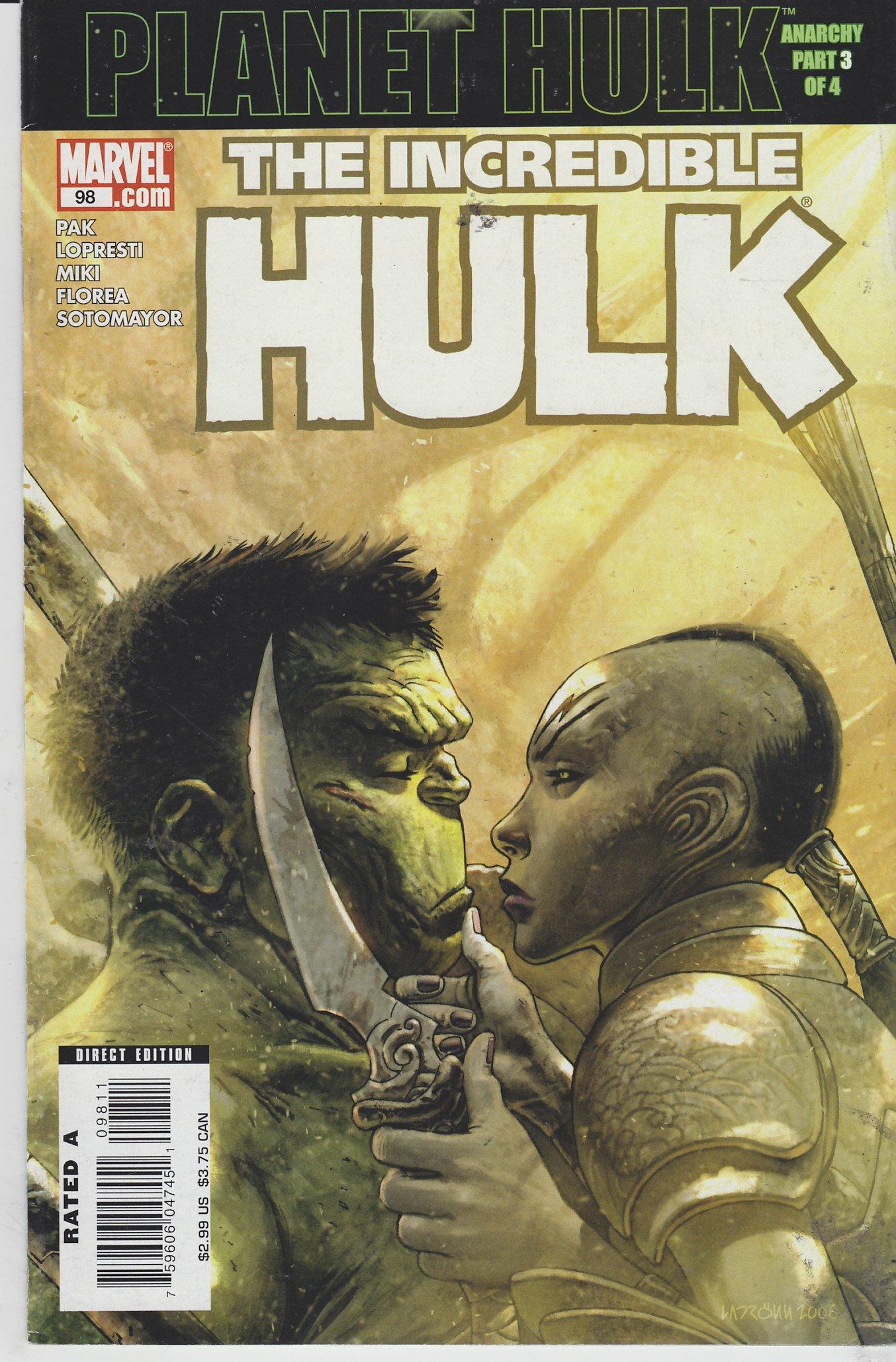 Incredible Hulk #98 Comics – September 13, 2006