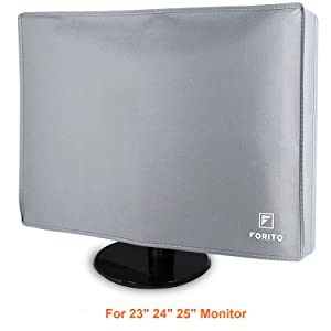 "Flat Screen Monitor Cover Scratch Resistance Nonwoven Full Body Sleeve for 23"" 24"" 25"" LED LCD HD Panel (Size: 24W x 18H x 3D)"