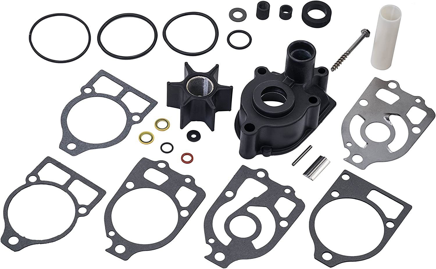 Quicksilver 96148Q8 Water Pump Repair Kit- Mercury and Mariner Outboards and MerCruiser Stern Drives
