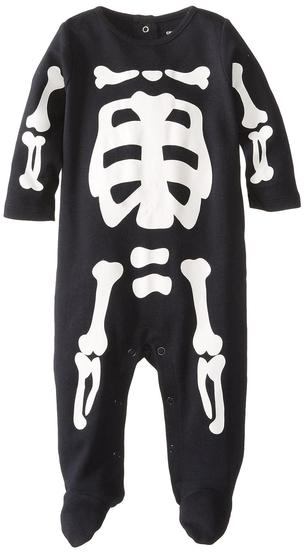 Carters Baby Girls Halloween Snap Romper Purple Skeleton Baby