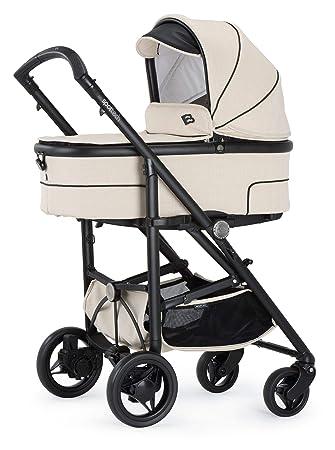 Bebecar Spot Tech - Cochecito de bebé en crema Magic 643: Amazon.es: Bebé