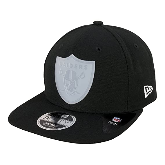 6cae0336635 New Era 9FIFTY NFL Transpaent Logo Oakland Raiders Snapback Cap  Amazon.co. uk  Clothing