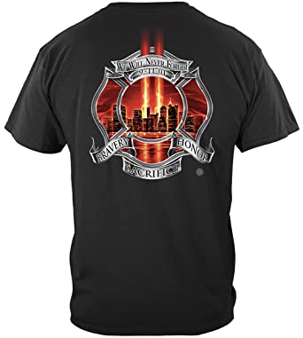 5bb2446b Erazor Bits Firefighter Party Supplies | Red Tribute High Honor Firefighter  Shirt ADD135-FF2090S