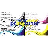 HP 950XL - Cartucho de tinta original de gran capacidad (para impresoras HP Officejet Pro 8100, 8600 y 8600 Plus), color set completo no OEM