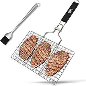 Sweepstakes: SUMPRI Barbecue Grill Basket -Portable Stainless Steel BBQ...