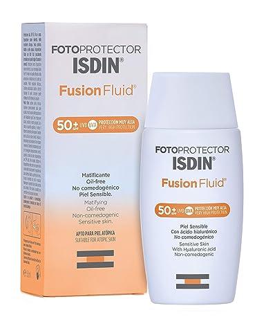 Fotoprotector ISDIN Fusion Fluid SPF 50+ | Matificante | Oil-free ...