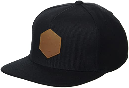 d7f30145 NEFF Men's Y Snapback Custom Fitted Hats, Adjustable, Black/Gum, One Size