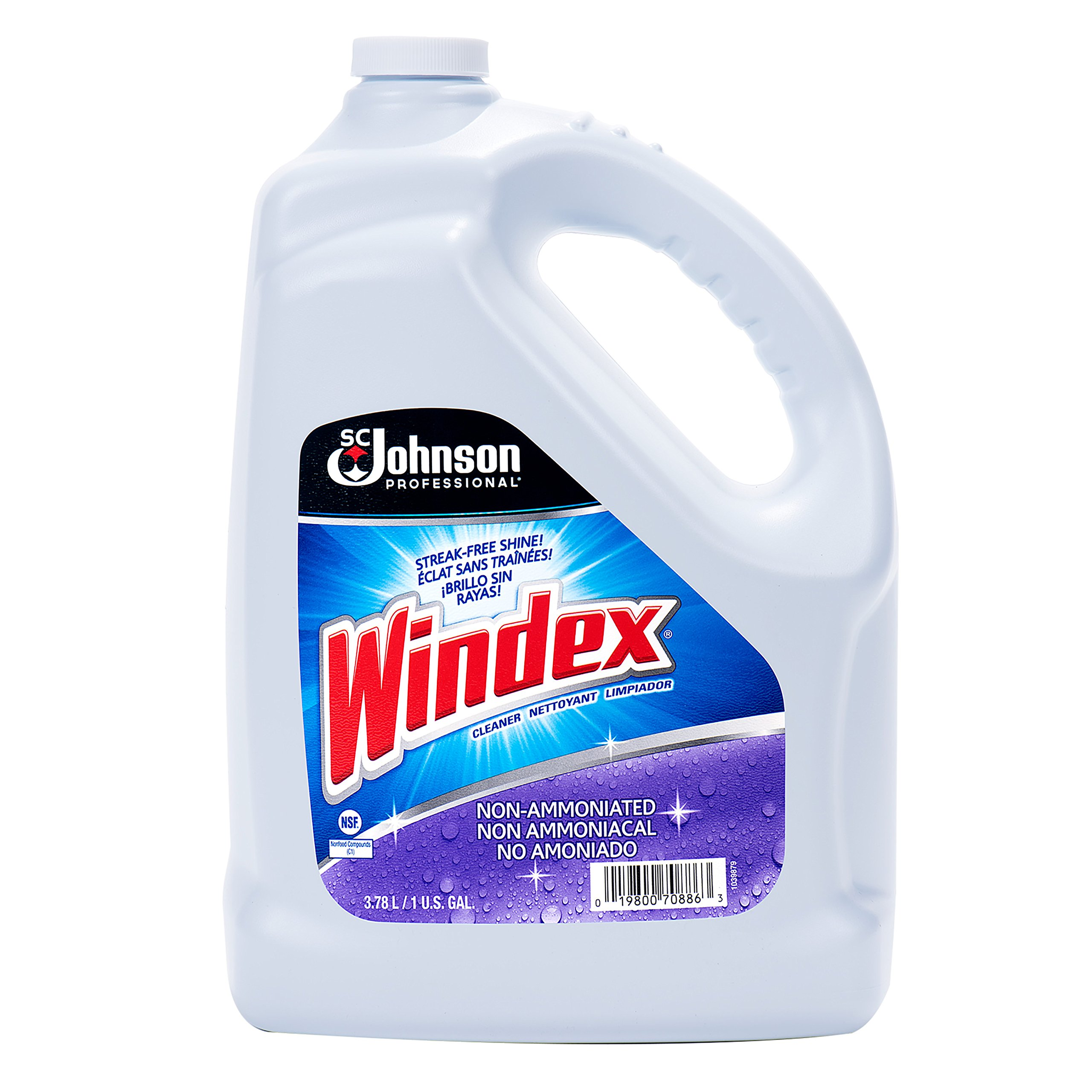 Windex Sc Johnson Professional Windex Multi Surface Cleaner Refill, 128 Ounce