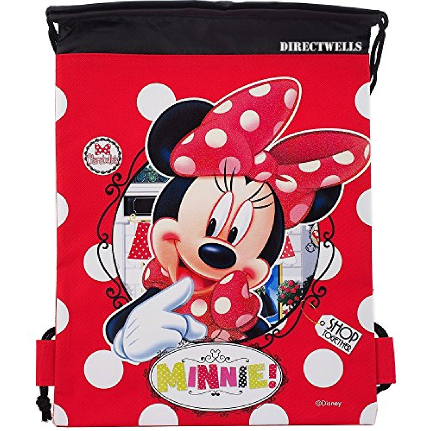 Disney Authentic Licensed Drawstring Backpack Image 1