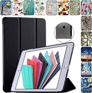DuraSafe Cases for iPad PRO 9.7 Inch 2016 [ A1673 A1674 A1675 ] Smart Cover - Black (UltraSlim)