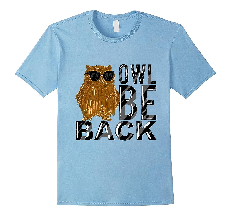 Owl Funny Sunglasses Nocturnal T Shirt-Tovacu