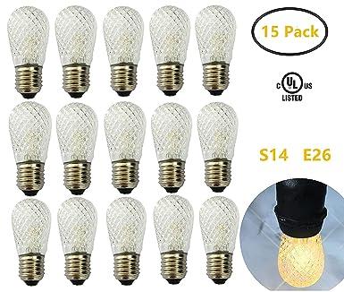 0 2700k 15 E26 De RechangeBlanc Led Chaud Ampoule 9w PackS14 HWIYDE29e