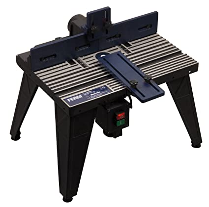 FERM Router Table - Universal: Baseplate Diameter 162mm - Robust and stable  aluminium construction