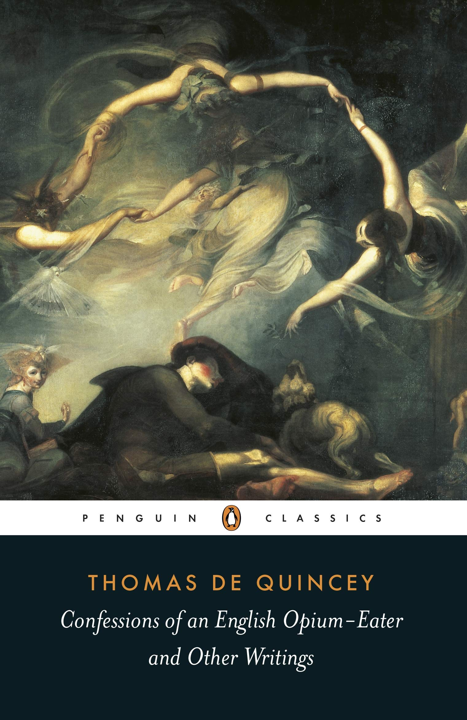 Confessions of an English Opium Eater: And Other Writings (Penguin  Classics): Amazon.co.uk: De Quincey, Thomas, Milligan, Barry:  9780140439014: Books